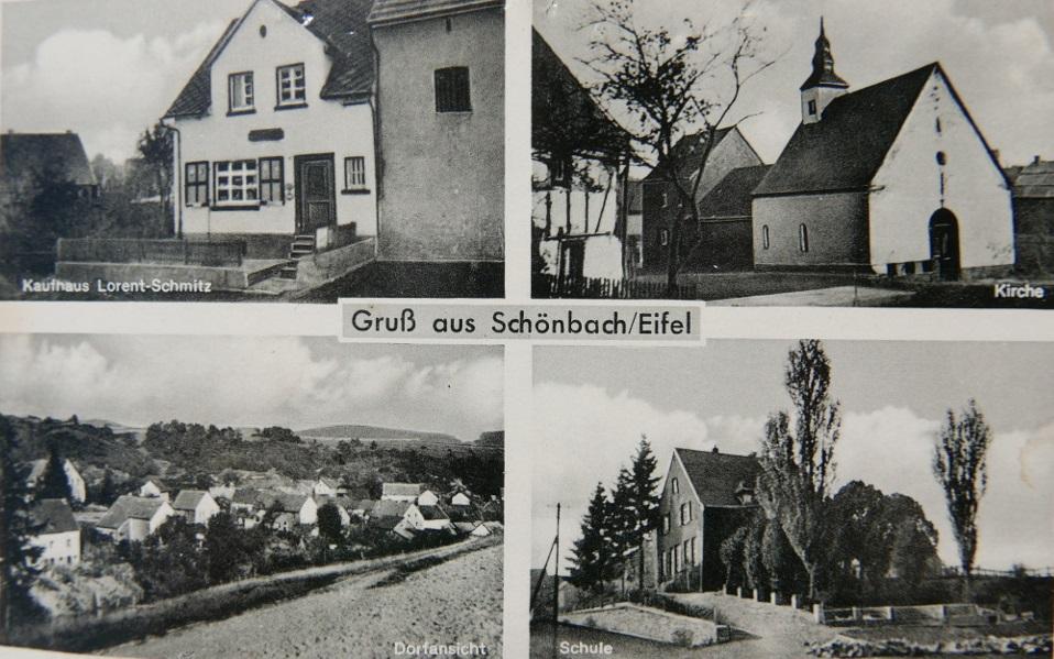 Schönbach Postkarte
